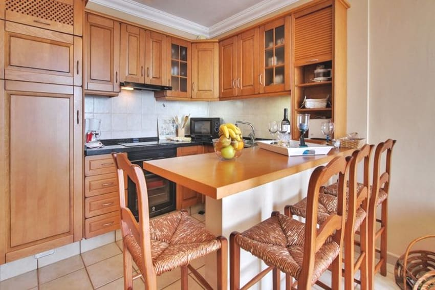 Spain - Canary Islands - La Palma - Puerto Naos - Apartment Brisa del Mar - Fully equipped kitchen with dining area