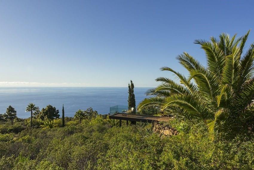 Landschaft, Pabellón de Miramar, Ferienhaus La Palma