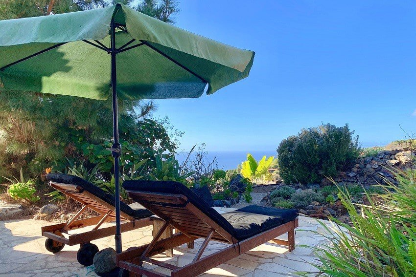 Sunbeds, Villa Tigotan, Villa La Palma