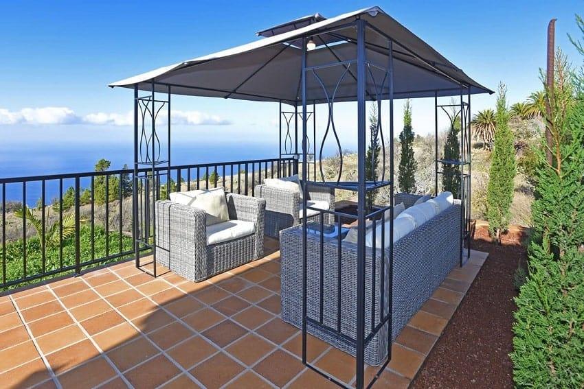 Lounge, Casa Pastor, Ferienhaus Tijarafe, La Palma