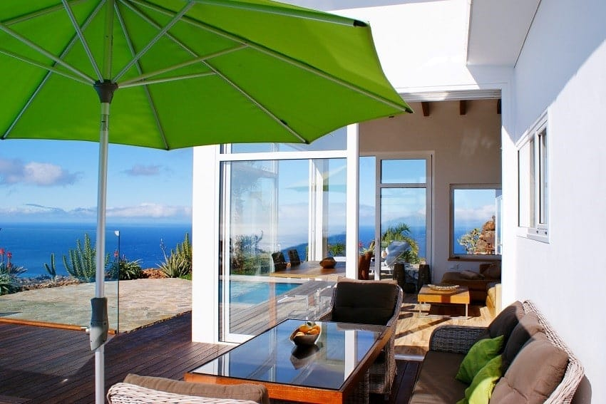 Lounge, Villa Perla del Mar, Villa Puntagorda, La Palma