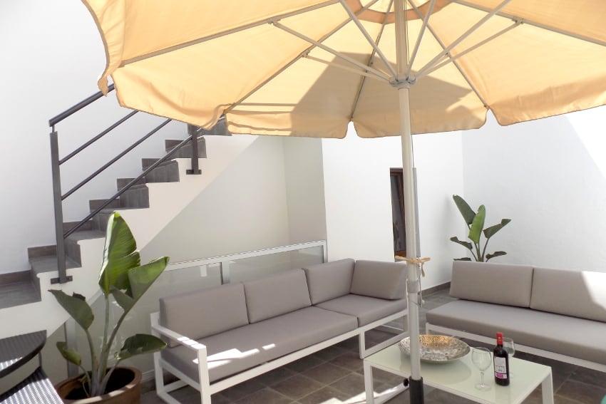 Spanien - Kanarische Inseln - La Palma - Tazacorte - Casa Maria - Modernes Stadthaus mit Sonnenterrasse