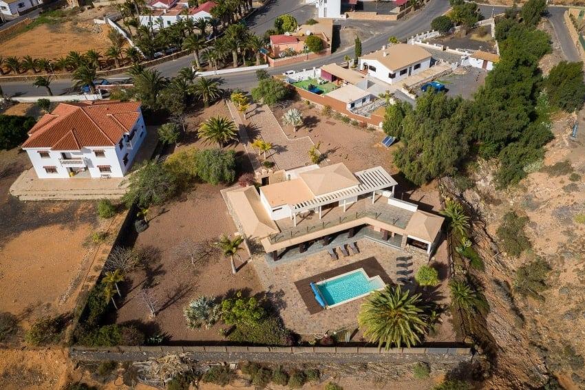 Aerial View, Villa Atlanntes, Villa Fuerteventura