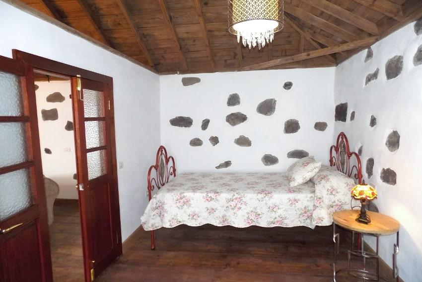 Spain - Canary Islands - La Palma - Tazacorte - Casa Maria - Sleeping room ground floor