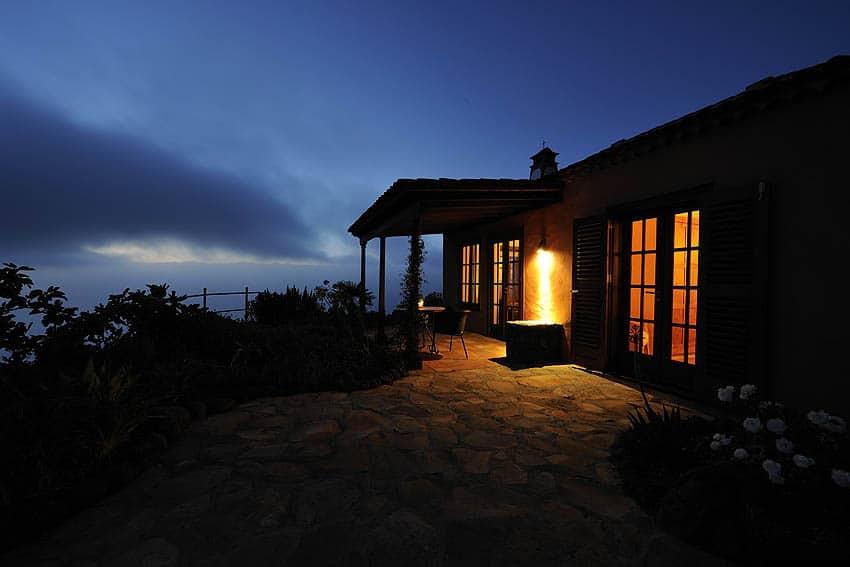 Pabellon de Miramar bei Nacht