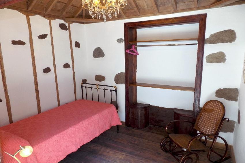 Spain - Canary Islands - La Palma - Tazacorte - Casa Maria - Bedroom 1. floor