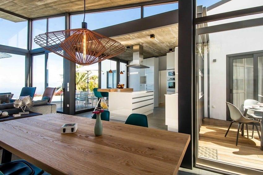 Open Floor Concept, Villa Hahn, Villa La Palma