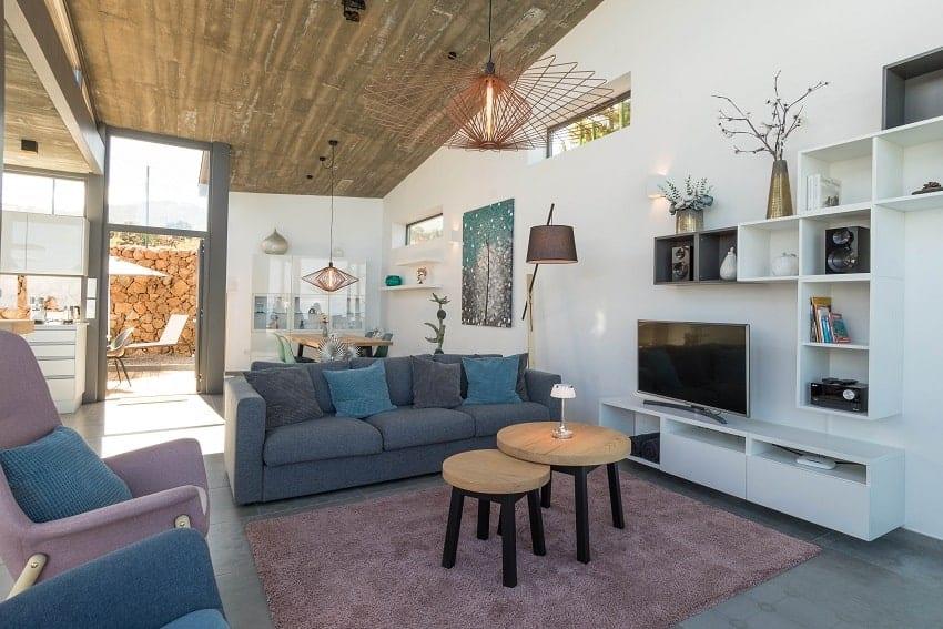 Open Living Concept, Villa Hahn, Villa La Palma