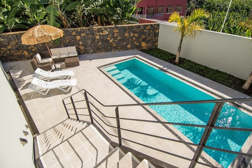 Pool, Casa Alma Marina, Ferienhaus La Palma