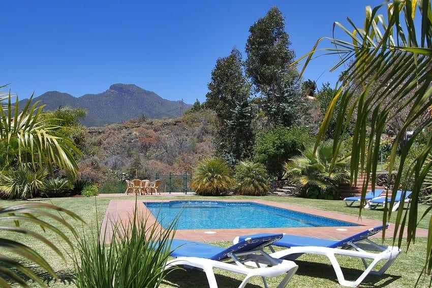 Piscina, Casa Calma, La Palma