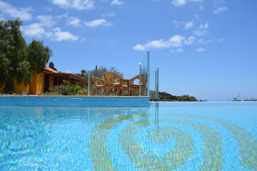 Pool, Casa Caracol, Holiday Cottage Tijarafe