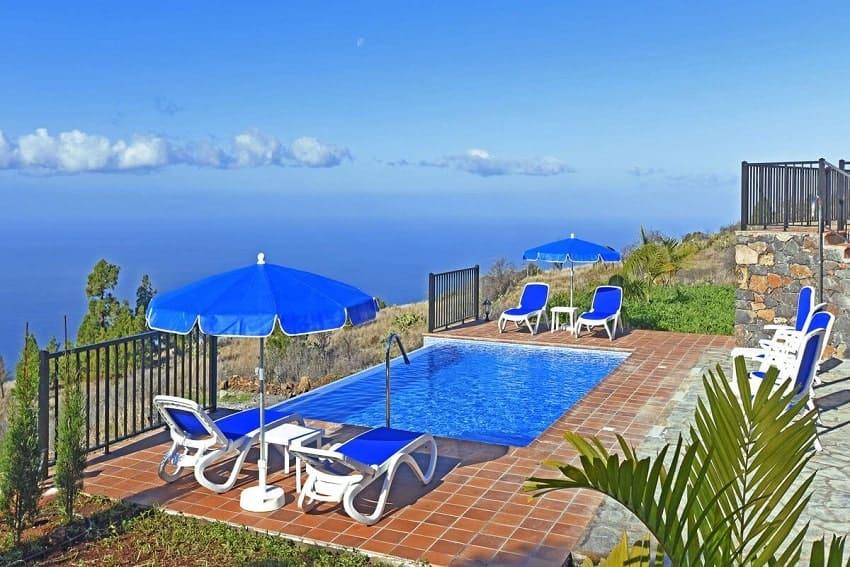 Pool, Casa Pastor, Ferienhaus La Palma