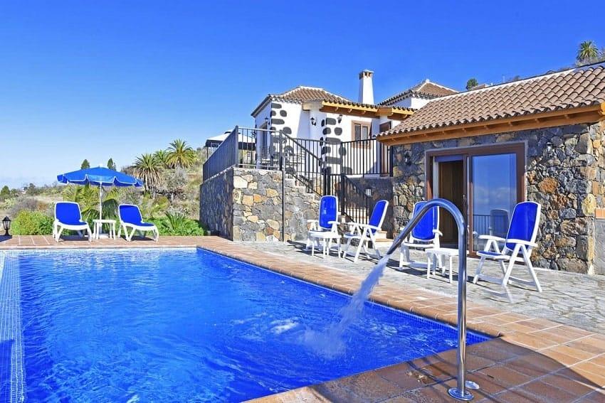 Pool, Casa Pastor, Ferienhaus Tijarafe