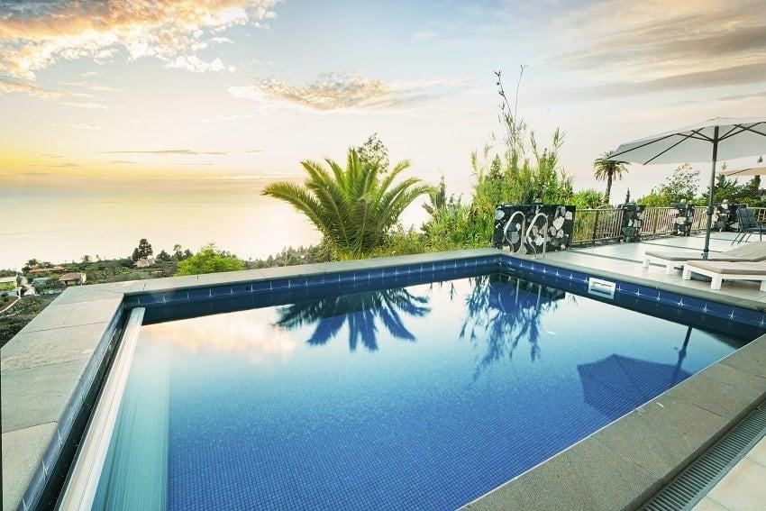 Pool, Casa San Borondon, Luxury Holiday Home La Palma
