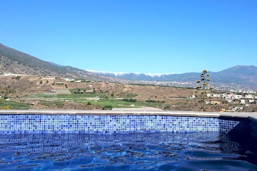 Pool, Casa Vista Caldera, Country House La Palma