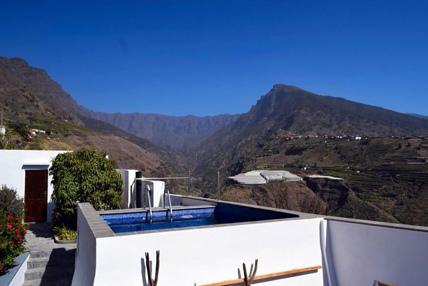 Pool, Casa Vista Caldera, La Palma