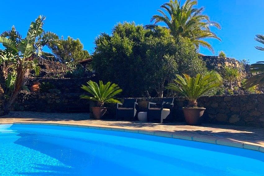 Pool, Finca Esperanza, La Palma, Finca