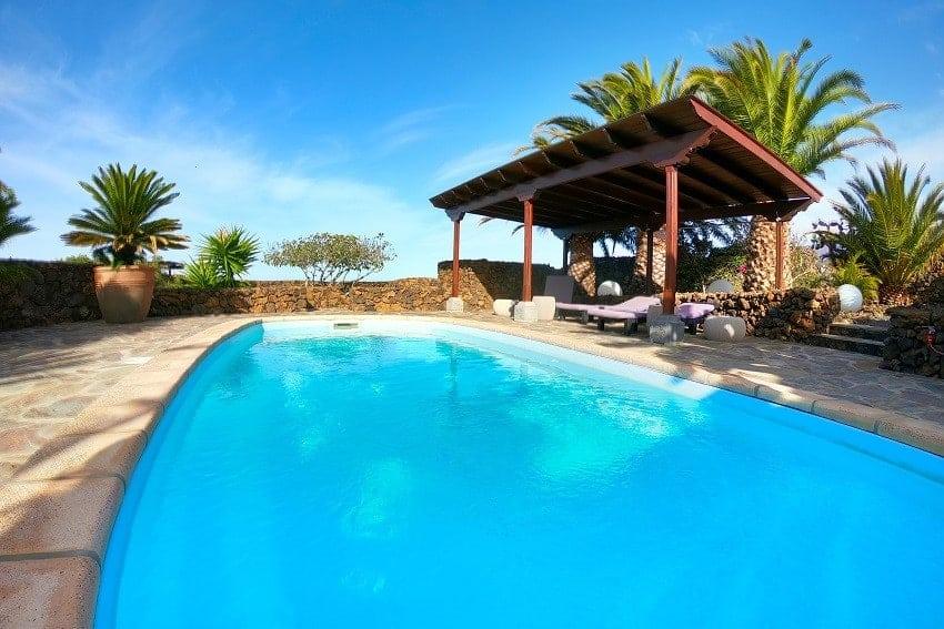 Pool, Finca Esperanza, La Palma