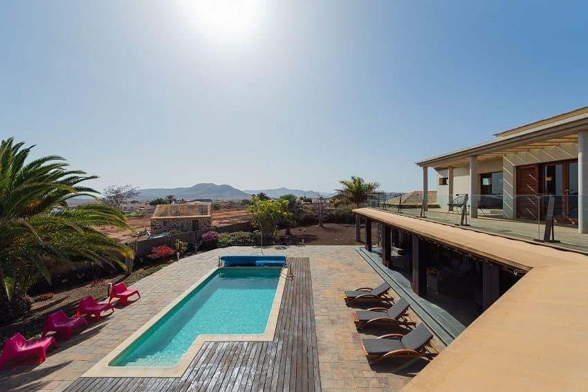 Pool, Villa Atlanntes, Villa Fuerteventura