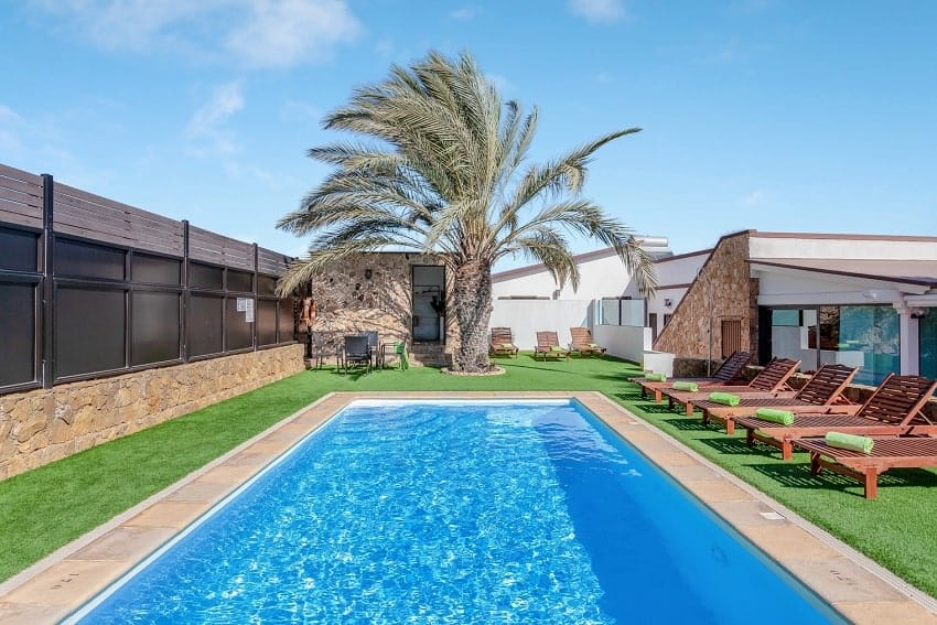 Pool, Villa Cobas, Holiday Cottage Fuerteventura