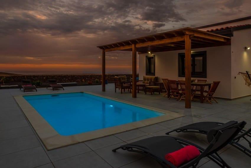 Pool, Villa Kira, Ferienhaus Fuerteventura