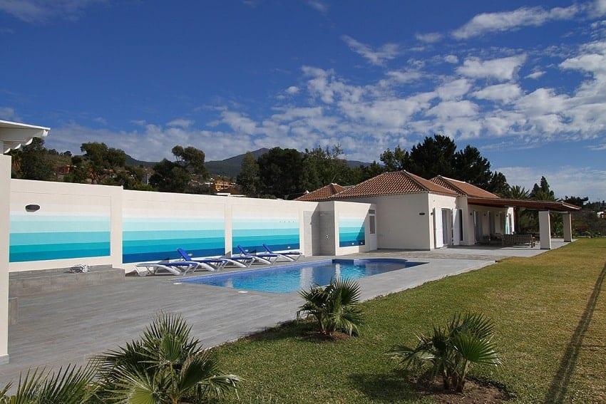 Piscina, Villa Royal, Casa Rural La Palma