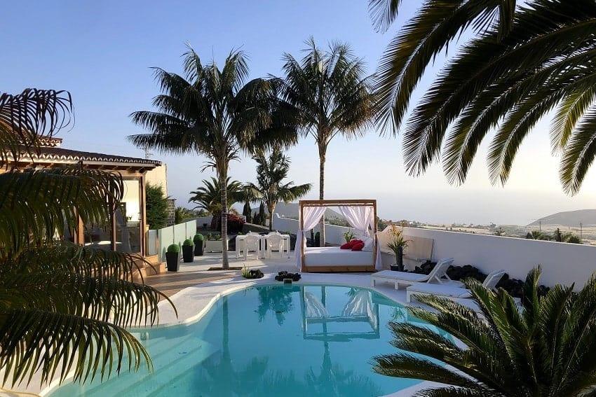 Pool, Villa Tajuya, La Palma