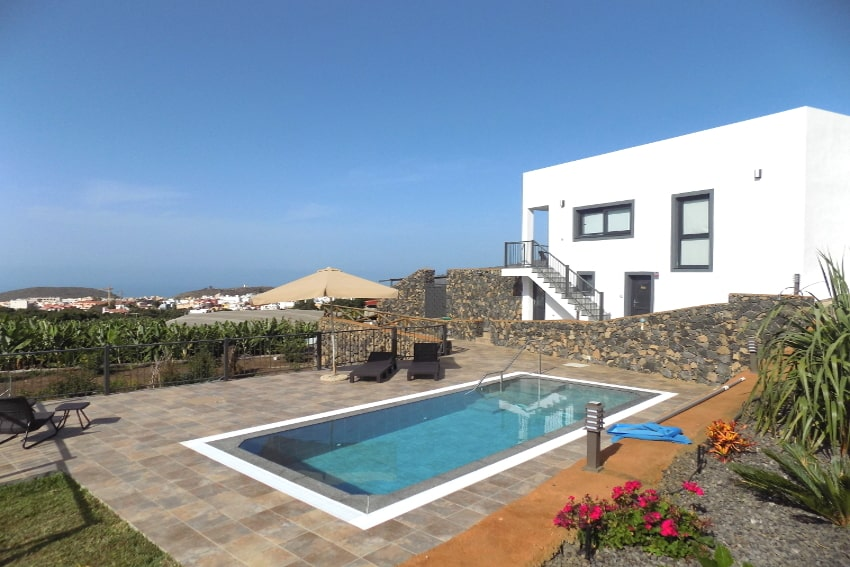 Spain - Canary Islands - La Palma - Los Llanos de Aridane - Villa La Graja - Holiday villa with private pool and sea view