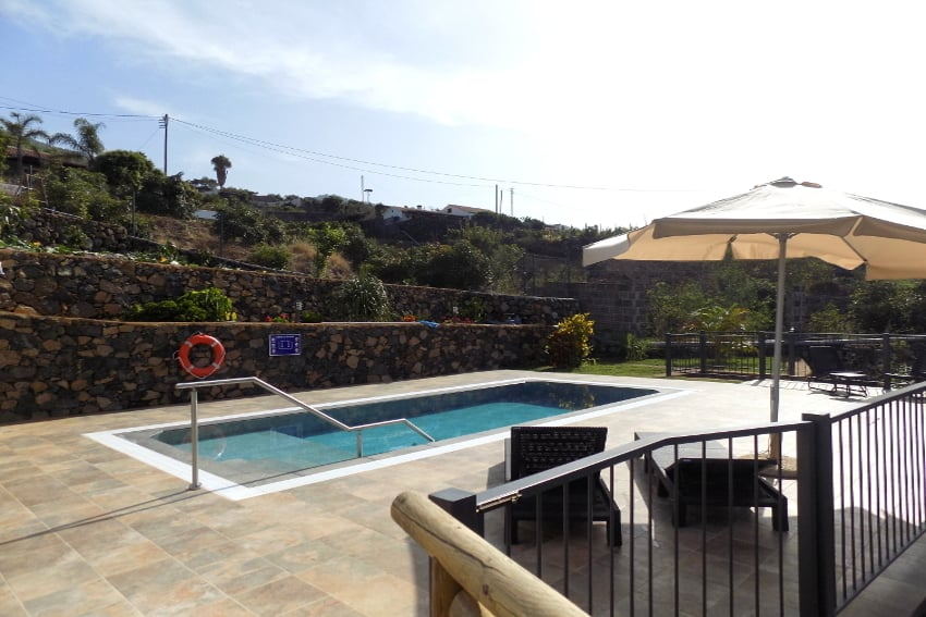 Spain - Canary Islands - La Palma - Los Llanos de Aridane - Villa La Graja - Holiday villa with private pool and mountain view