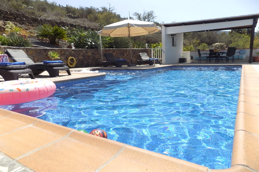 Spain - Canary Islands - La Palma - Tijarafe - Casa La Hoya - Holiday home with private heatable swimming pool and stunning views