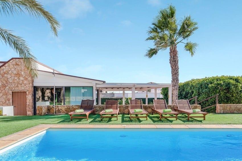 Pool Area, Villa Cobas, Holiday Cottage Fuerteventura
