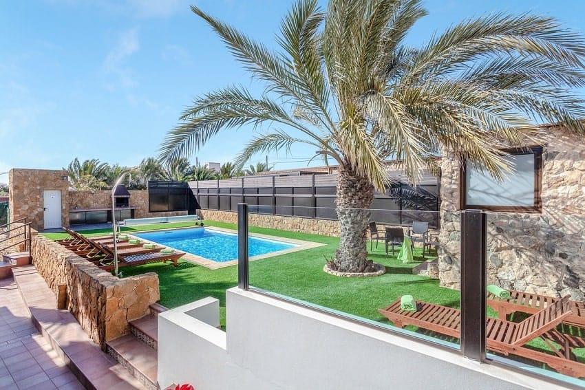 Pool Area, Villa Cobas, Fuerteventura
