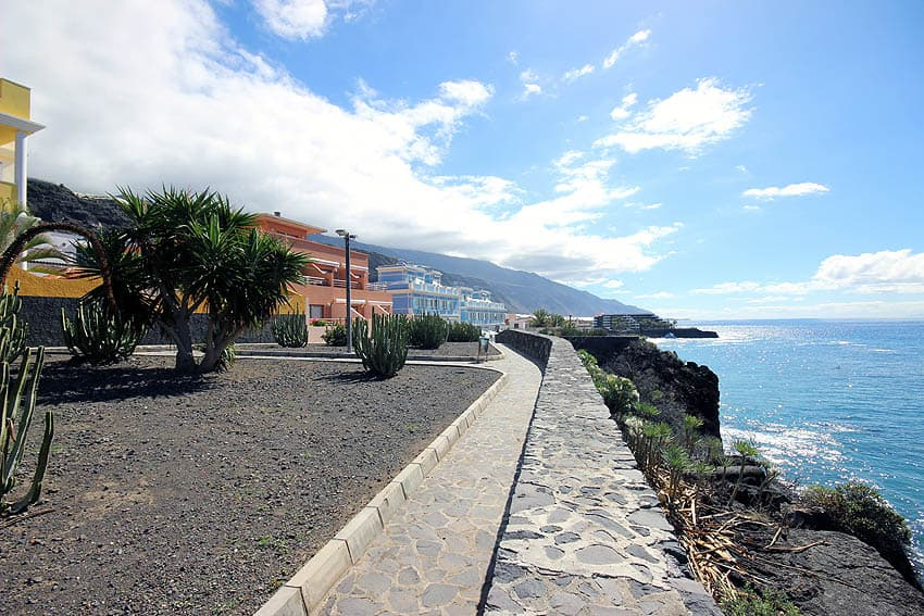 Ferienapartment Verode Puerto Naos: Blick über die Küste von Puerto Naos