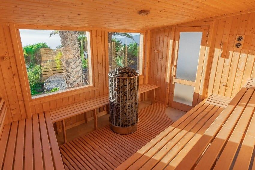 Sauna, Villa Don Miguel, Villa La Palma