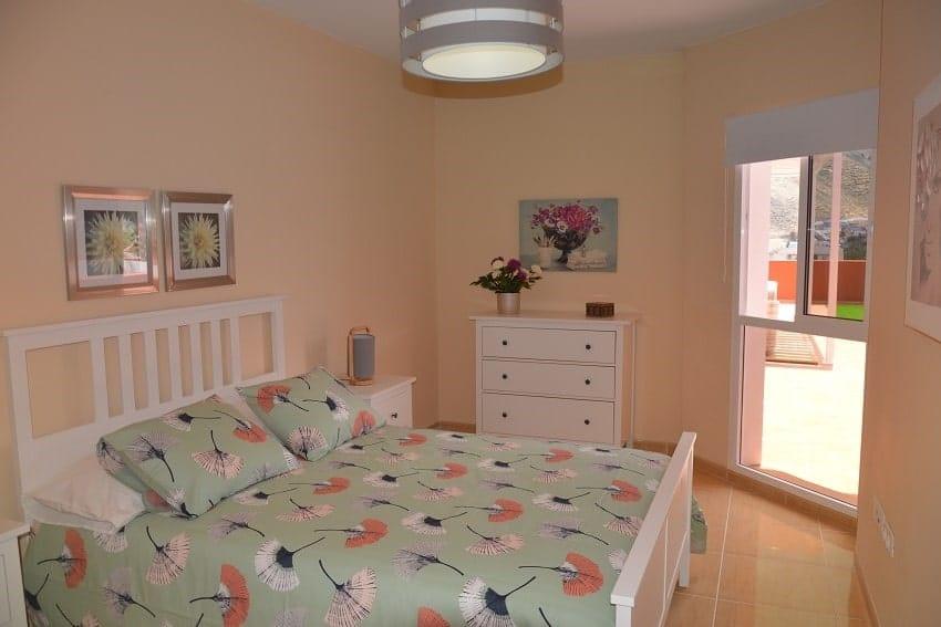 Bedroom, Apartment Miramar 2, Apartment La Gomera
