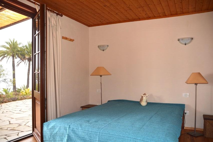 Bedroom, Casa Caracol, Holiday Cottage Tijarafe
