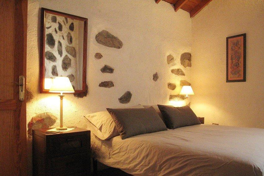Bedroom, Casa El Tabaibal, Accommodation La Gomera