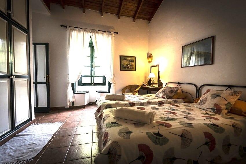 Bedroom, Casa Eliseo, La Gomera