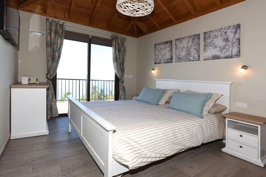 Schlafzimmer, Casa Pastor, Ferienhaus Tijarafe, La Palma