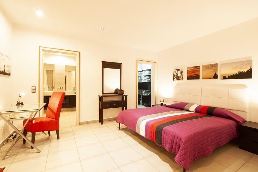 Bedroom, Casa San Borondon, Luxury Holiday Home La Palma