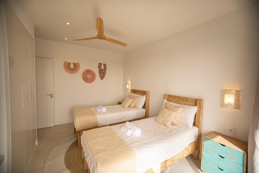 Bedroom, Single Beds, Villa Odo, Fuerteventura