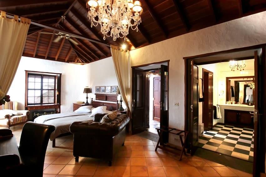 Schlafzimmer, Finca Esperanza, La Palma