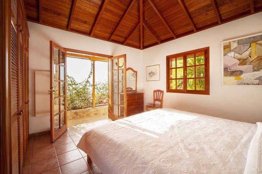 Dormitorio, Casa Rural Tijarafe