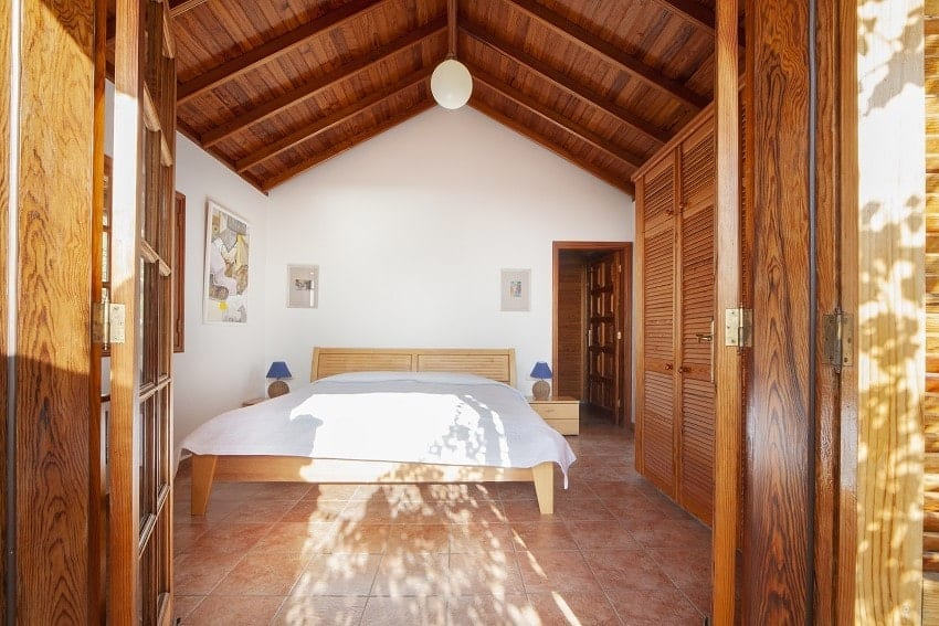 Dormitorio, Casa Rural Tijarafe, La Palma