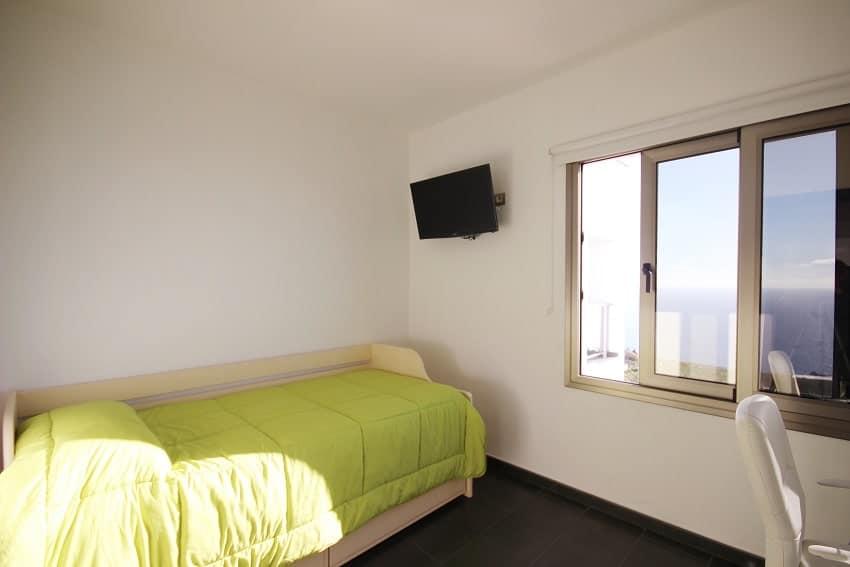 Dormitorio, Villa Espejo, La Palma