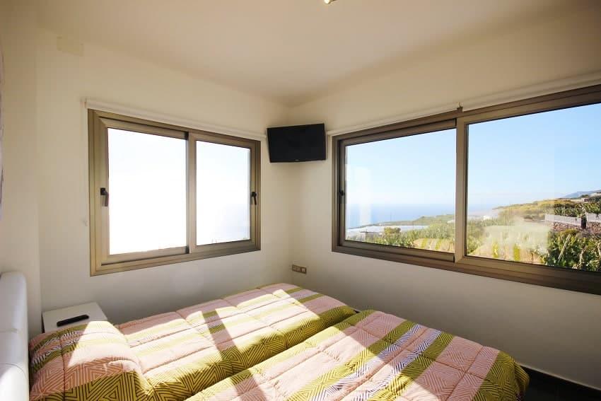 Dormitorio, Villa Espejo, Villa La Palma