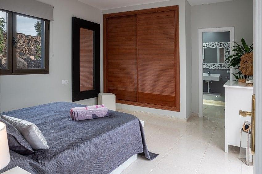 Schlafzimmer, Villa Kira, Ferienhaus Fuerteventura