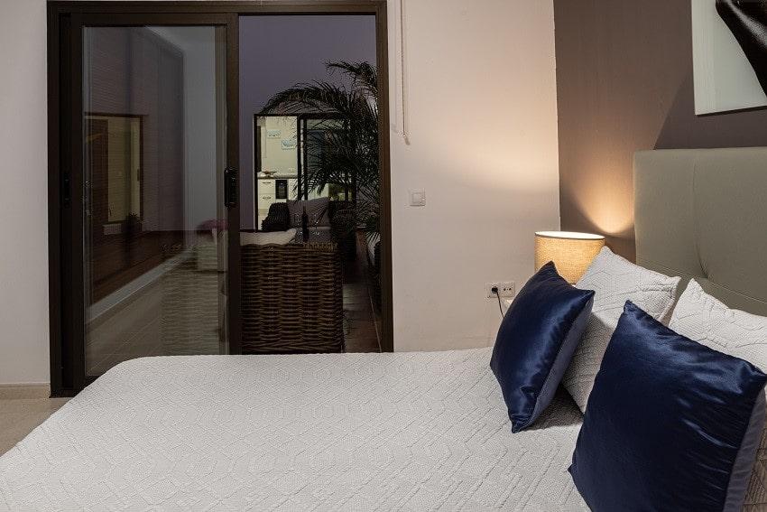 Schlafzimmer, Villa Kira, Ferienhaus