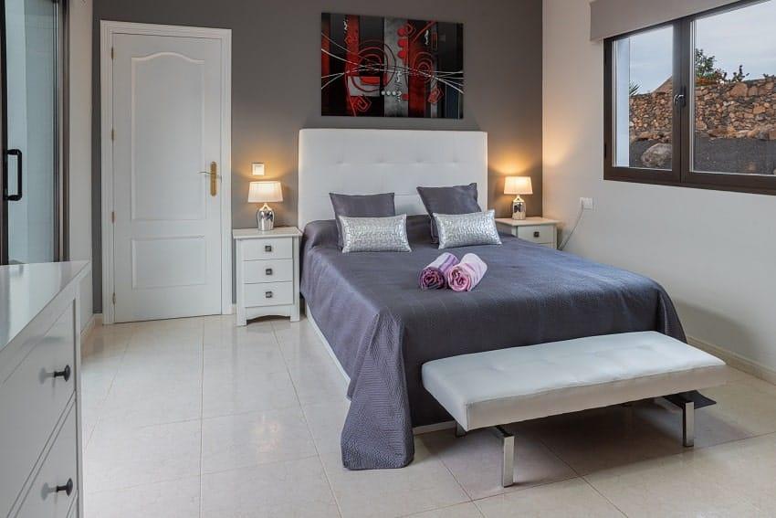 Schlafzimmer, Villa Kira, Fuerteventura