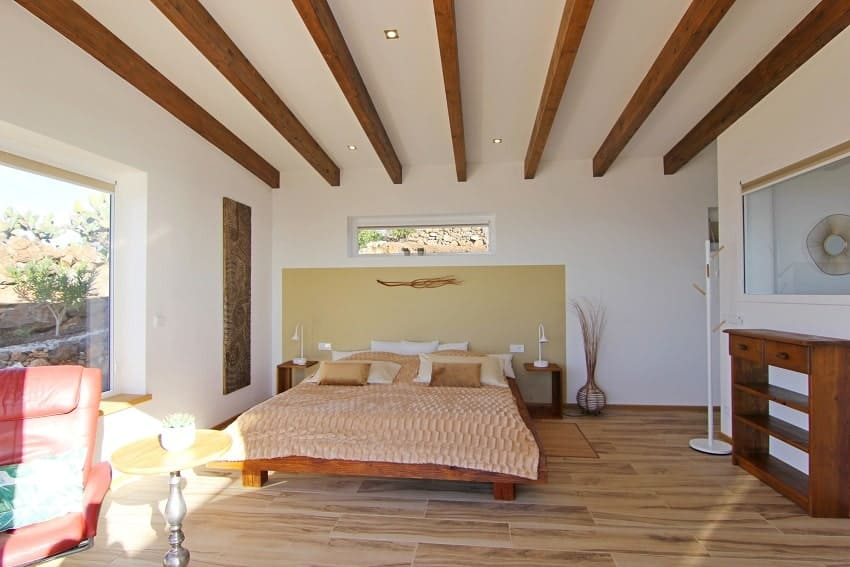 Bedroom, Villa Perla del Mar, Villa La Palma, Puntagorda